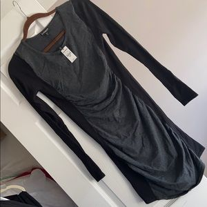 NWT Express black and grey dress